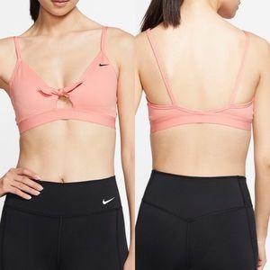 Nike Favorites Tie Front Light Support Bra